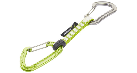 Edelrid Mission Light Set express set grijs/groen